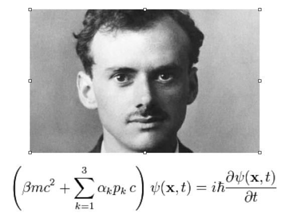 P.A.M. Dirac y su ecuación. Fuente